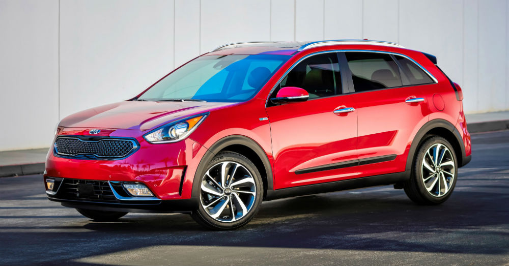 Niro is up next for the Kia lineup.