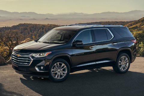 The Chevrolet Traverse has More for You