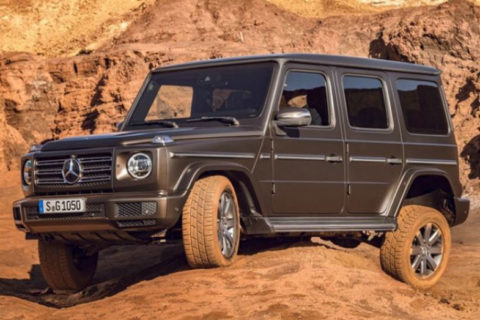 2018 Mercedes-Benz G-Class Rugged Military Luxury