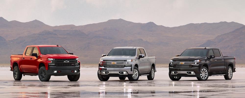 Chevrolet Silverado models