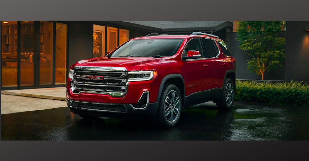 2020 GMC Acadia: The Perfect Size