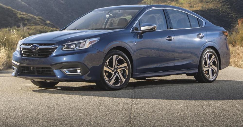 Admire the New Subaru Legacy